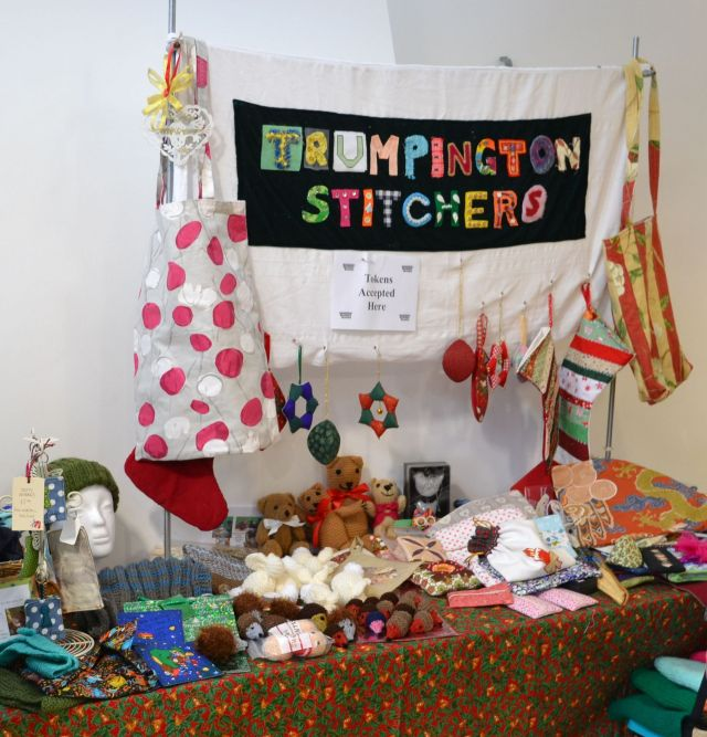 stitchers' Christmas stall ws