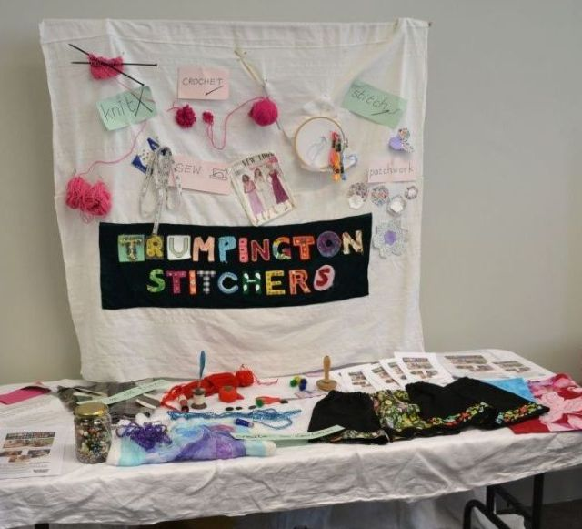 Stitchers' stall TM  June 2014 ws