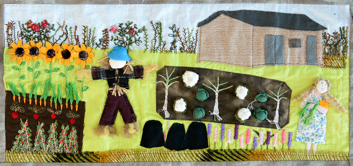 A4 Foster Road Allotments by Jackie Covill