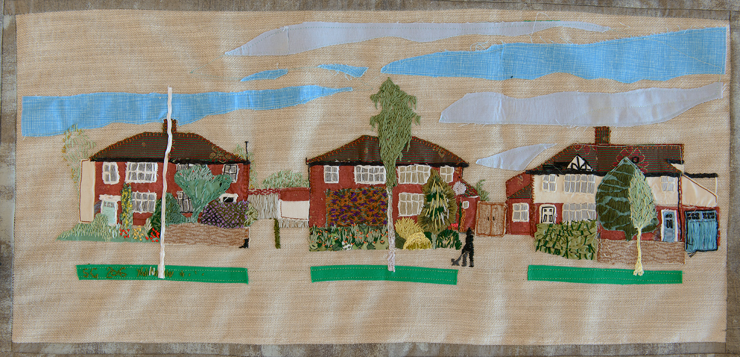 A5 Bishops Road Houses by Sheila Glasswell