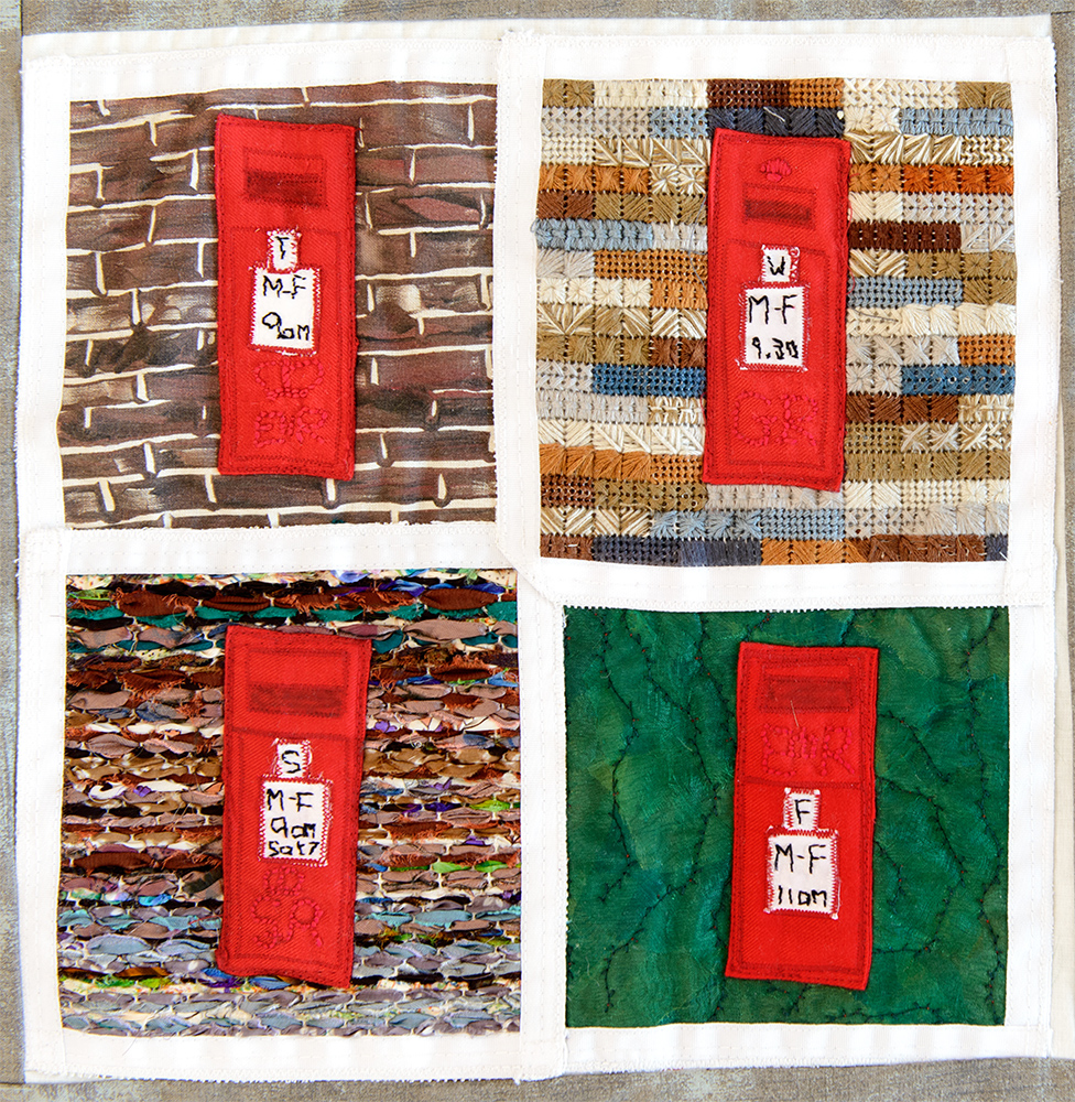 A9 Trumpington Post Boxes by Katherine McGilly