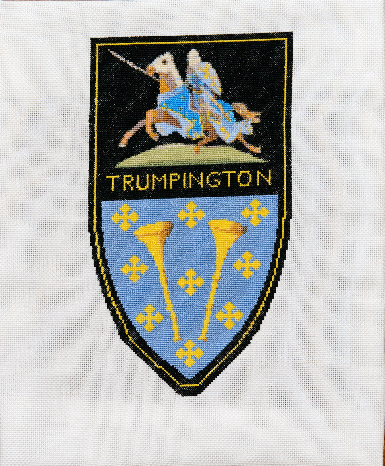 B5 Trumpington Village Sign by Ann Saberton